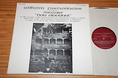 Furtwangler Mozart Don Giovanni Private Discocorp RR-407 Salzburg '50 3LP NM
