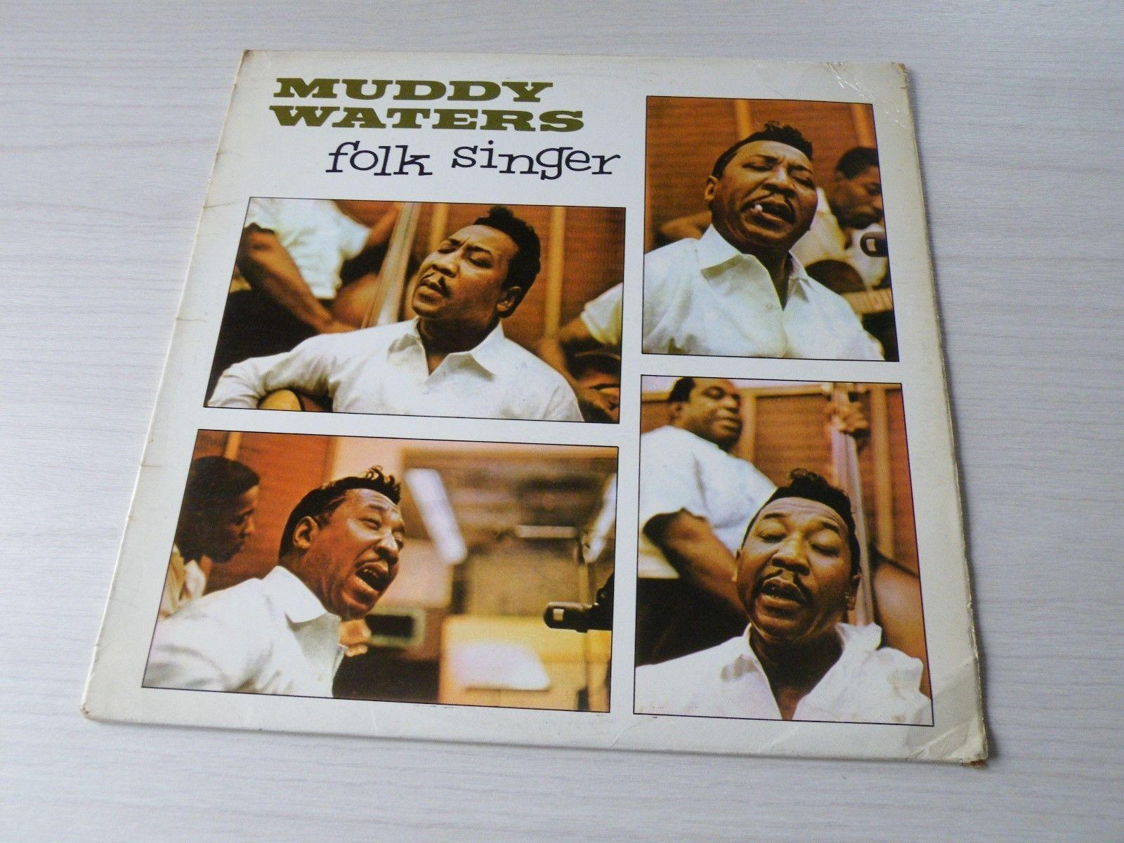 MUDDY WATERS FOLK SINGER LP UK PYE INTERNATIONAL 1964 MONO FIRST PRESSING BLUES