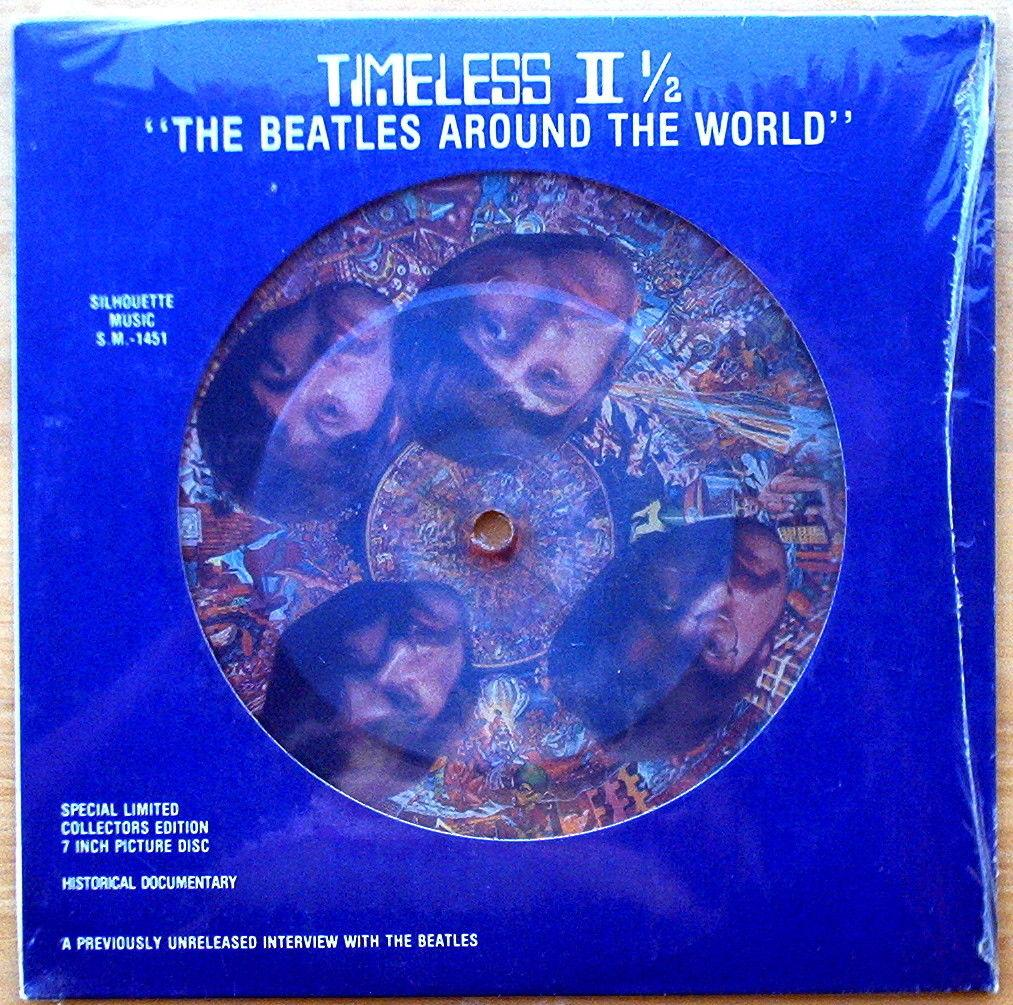 Scarce Sealed Timeless II 1/2 The Beatles Around the World - Interviews Mid '60s