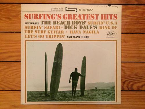 Surfing's Greatest Hits 1963 Capitol ST-1995 Beach Boys Dick Dale VG+