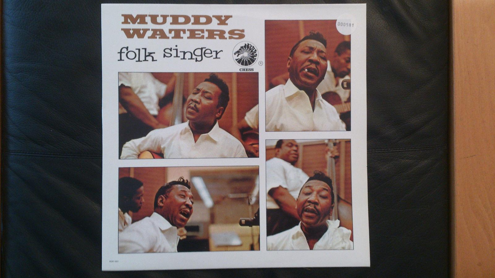 Muddy Waters  LP/ Vinyl / Folk Singer / Chess  HDR 1001 UK Print ( limitiert )