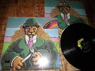 SAVOY BROWN / LIONS SHARE  / ORIGINAL  1972   BLUESROCK   RARE GIMMIX COVER