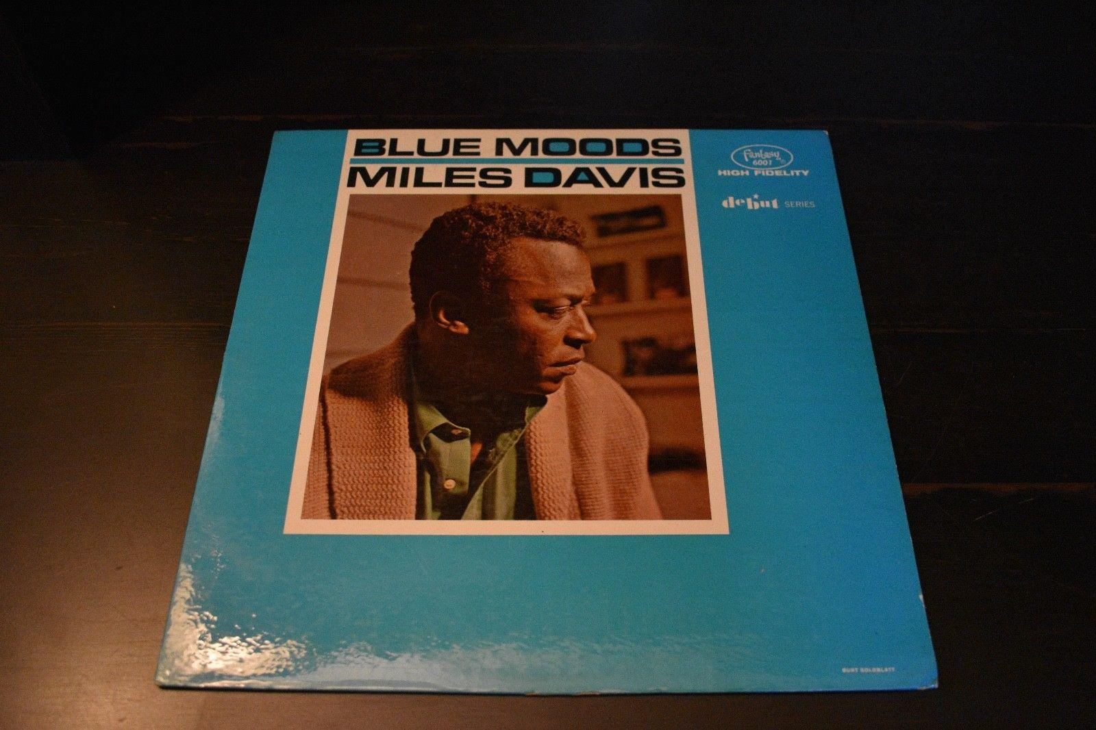 Miles Davis- Blue Moods-High Fidelity- Fantasy 6001-Debut Series
