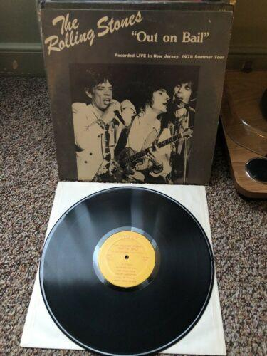The Rolling Stones Out On Bail Live Recording New Jersey 1978 Tour LP NM
