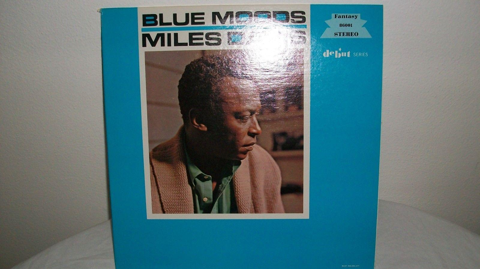 MILES DAVIS blue moods FANASTY F-86001 DEBUT SERIES NM, VG++ VERY NICE