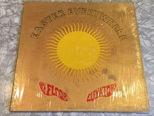 13Th FLOOR ELEVATORS Easter Everywhere 1967 Stereo In Shrink Psych Roky Erickson