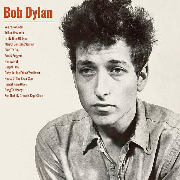 "BOB DYLAN ""SELF-TITLED"" 1962 REISSUE ITALY IMPORT 2017 LIMITED to 500 COPIES"