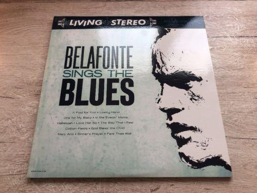 2 x 45 RPM Harry Belafonte – Belafonte Sings The Blues Impex Records ?IMP6012-45