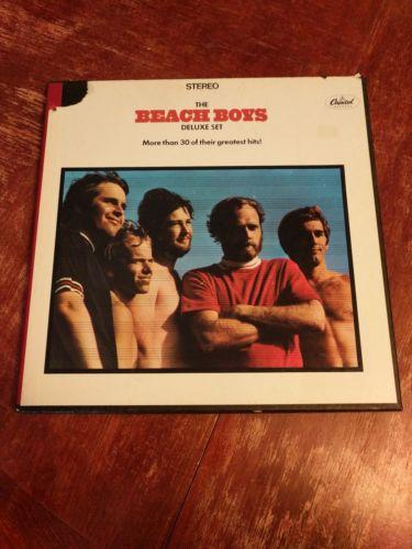 Beach Boys 3 LP Box Deluxe Set -  greatest hits - Pet Sounds Summer Days Today