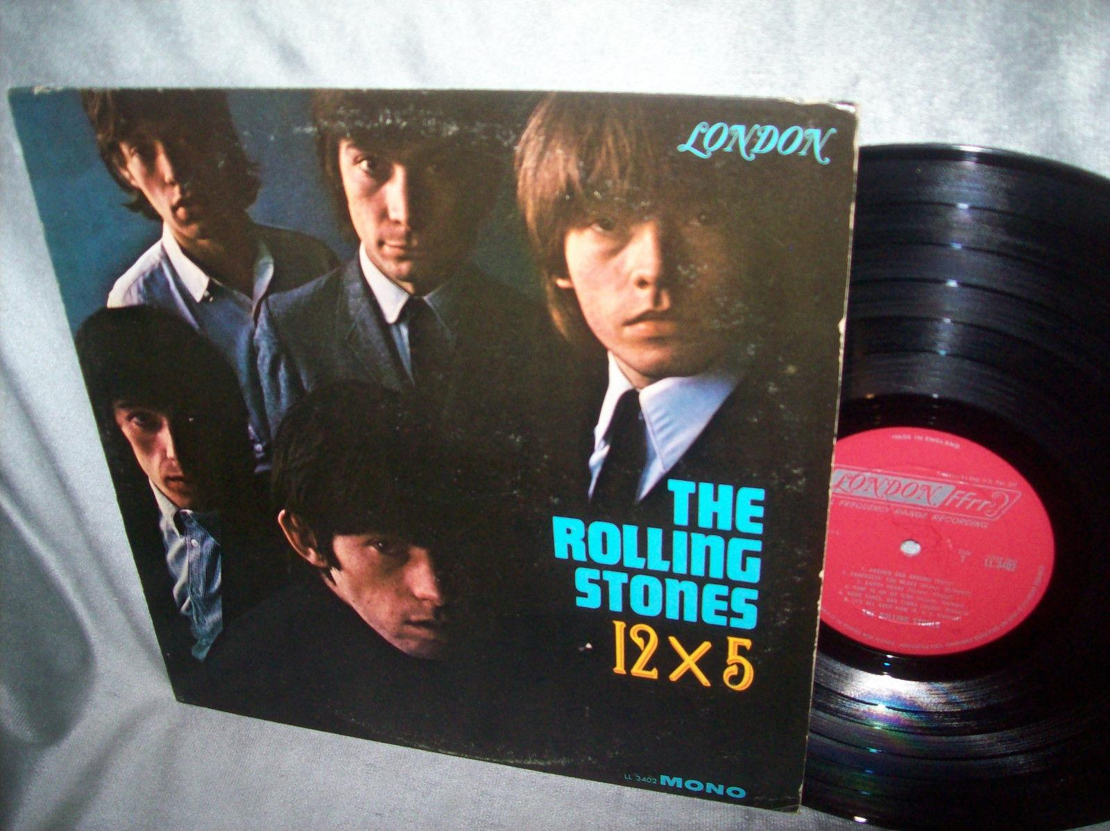 "The Rolling Stones  ""12x5""   MONO  LONDON  FFRR    1964   Original"