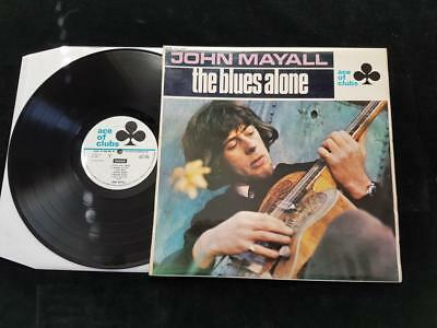 JOHN MAYALL The Blues Alone LP UK 1st Press Ace Of Clubs MONO ACL 1243 1967 EX+
