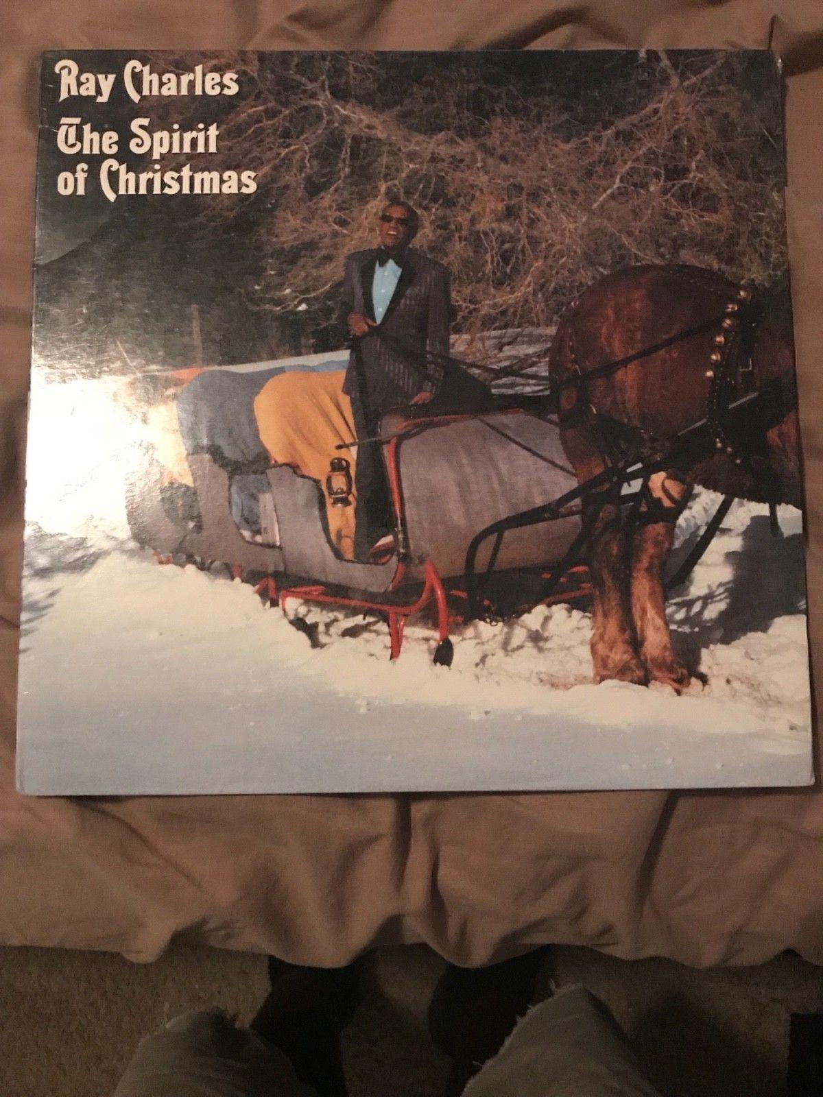 ray charles The spirit of christmas unopen vinyl