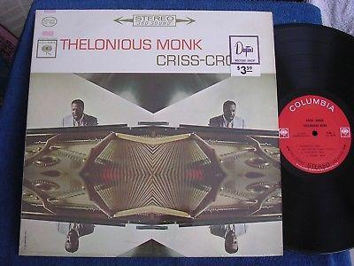 Thelonious Monk/Criss Cross/1963 Stereo/Shrink/2 Eye Columbia CS 8838/MINT-