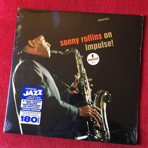 SONNY ROLLINS - On Impulse  LP Limited Edition 180g Vinyl RSD Black Friday 2017