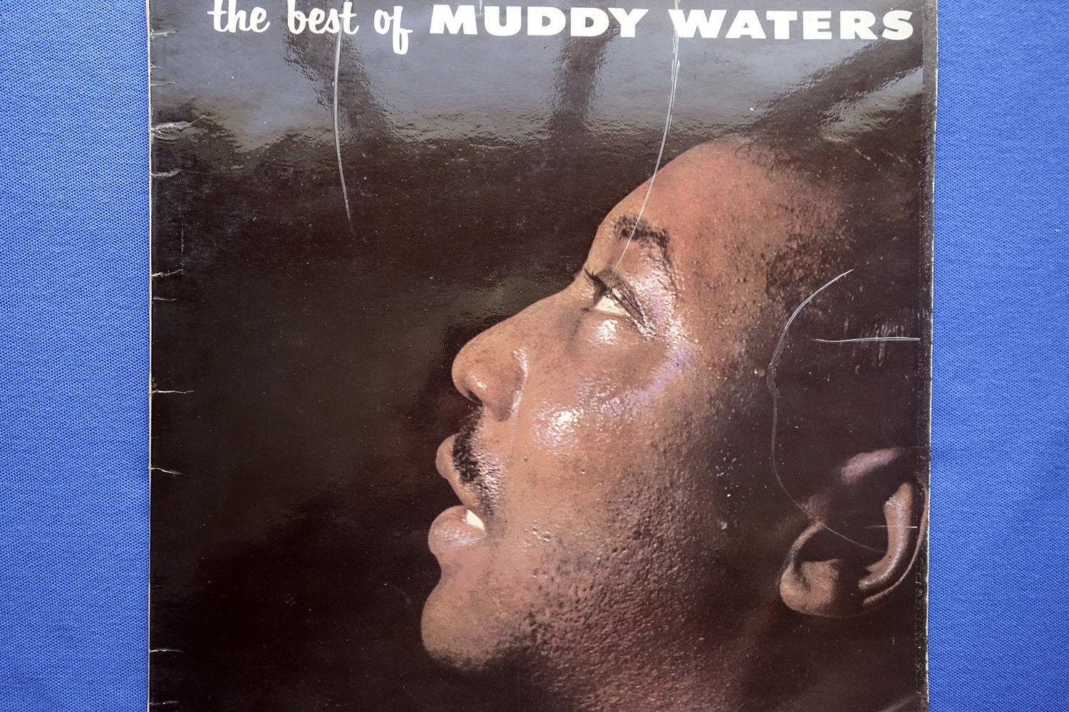 THE BEST OF MUDDY WATERS - UK PYE INTERNATIONAL MONO LP NPL 28040 from 1964