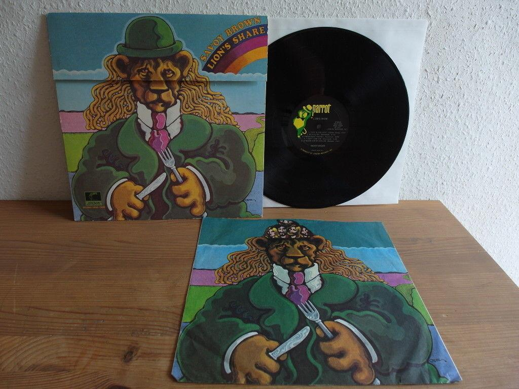 SAVOY BROWN LION'S SHARE GIMMIX COVER 1972 IN MINT