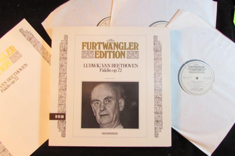 FURTWANGLER EDITION L.V. Beethoven Fidelio op.72 Fonit Cetra Italy 3-LP NM
