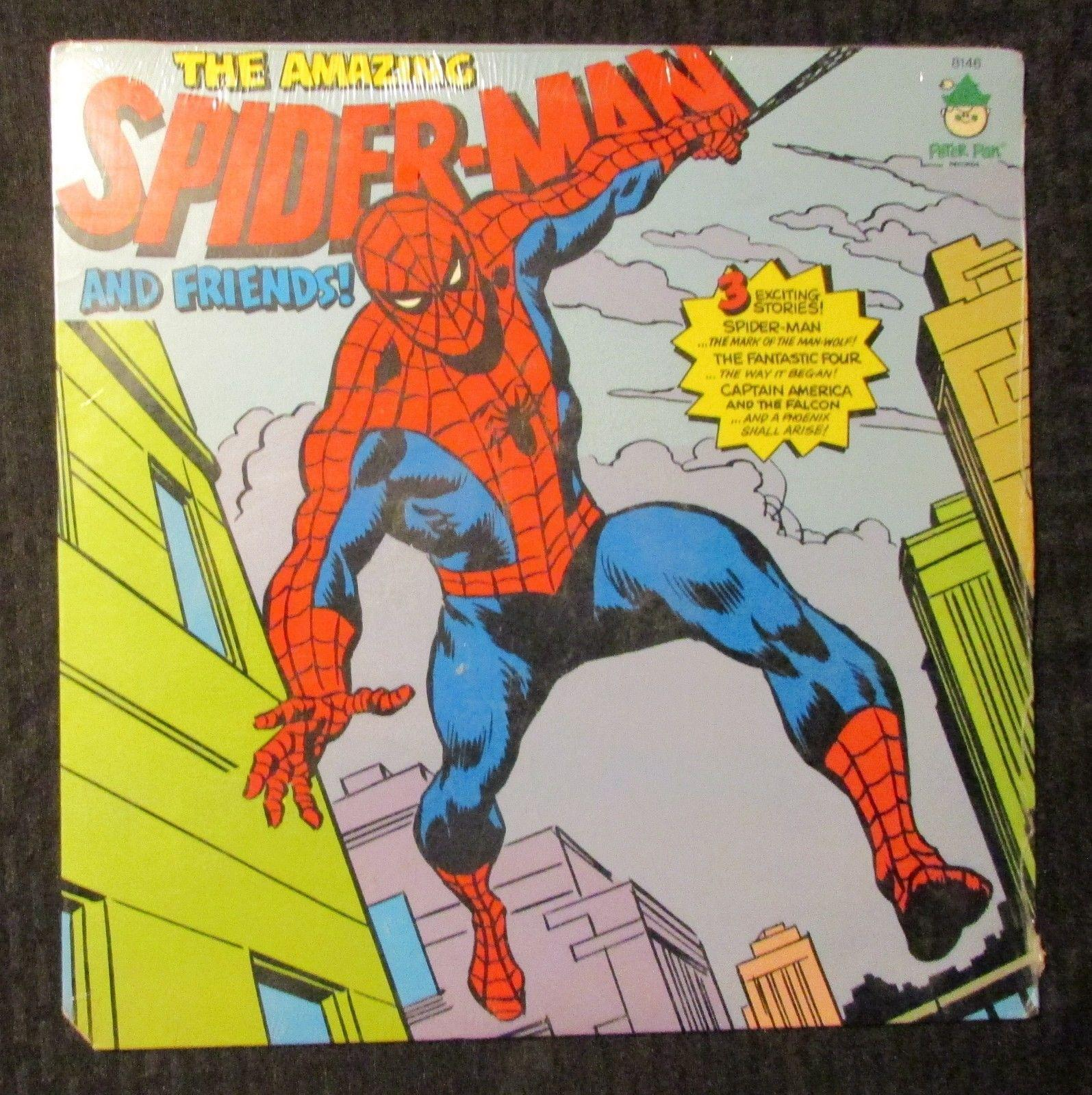 1974 The Amazing Spiderman And Friends LP Sealed Power Records 8146