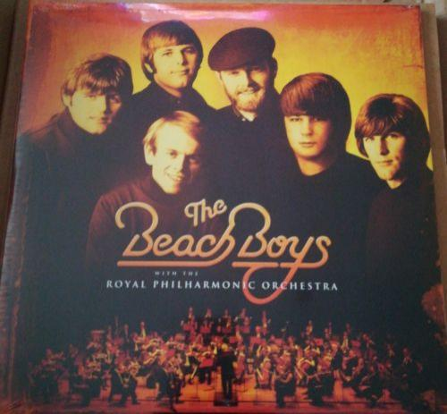 THE BEACH BOYS & ROYAL PHILHARMONIC ORCHESTRA - ORANGE VINYL GREATEST HITS LP