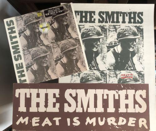 The Smiths - Meat Is Murder (Sire- Includes Original Poster + Display Card)
