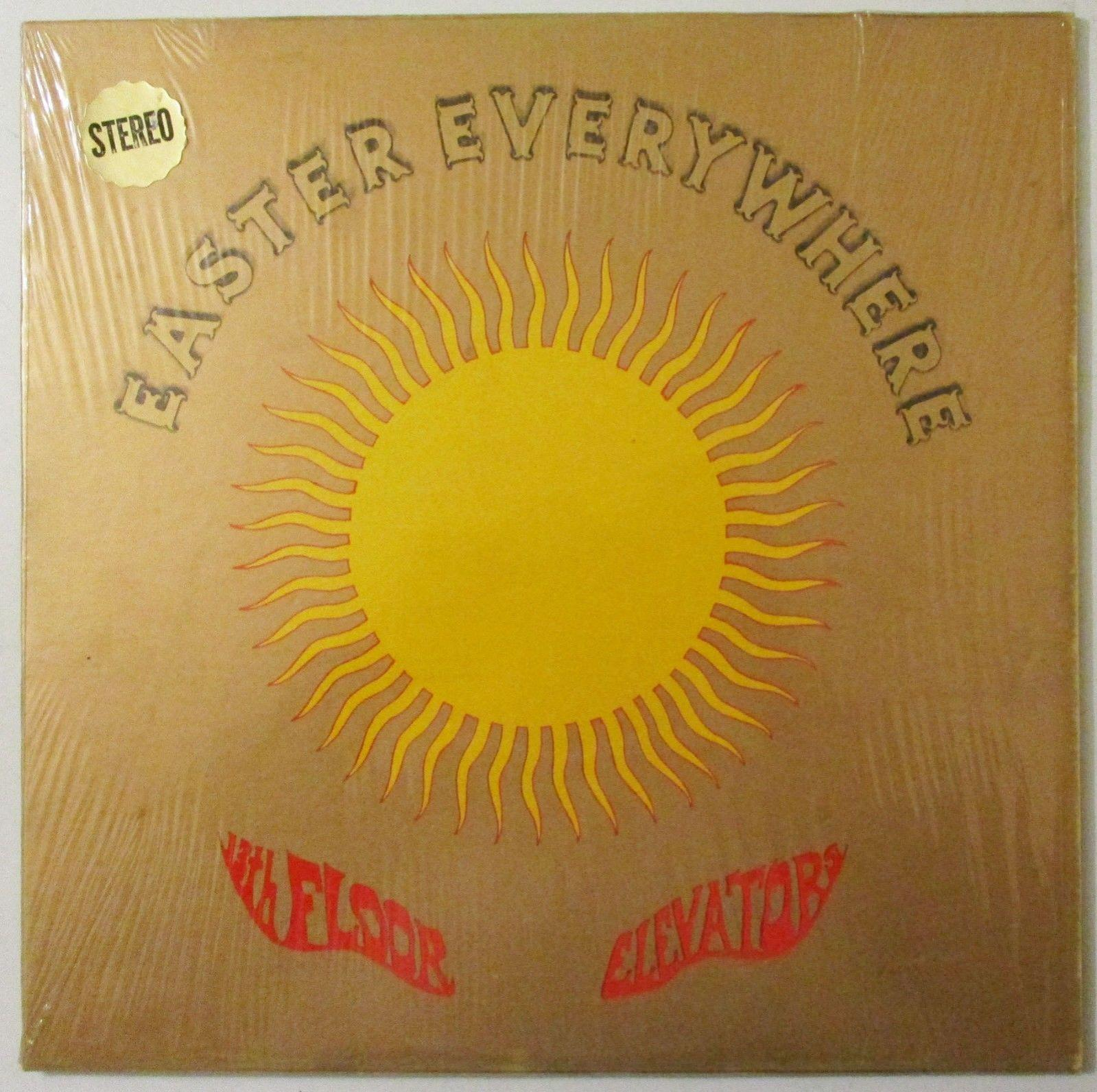 "13th FLOOR ELEVATORS ""EASTER EVERYWHERE"" I.A. RECORDS STEREO-PSYCH-IN SHRINK"