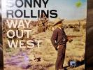 SONNY ROLLINS - Way Out West Vintage Vinyl LP Contemporary S7530 Exc
