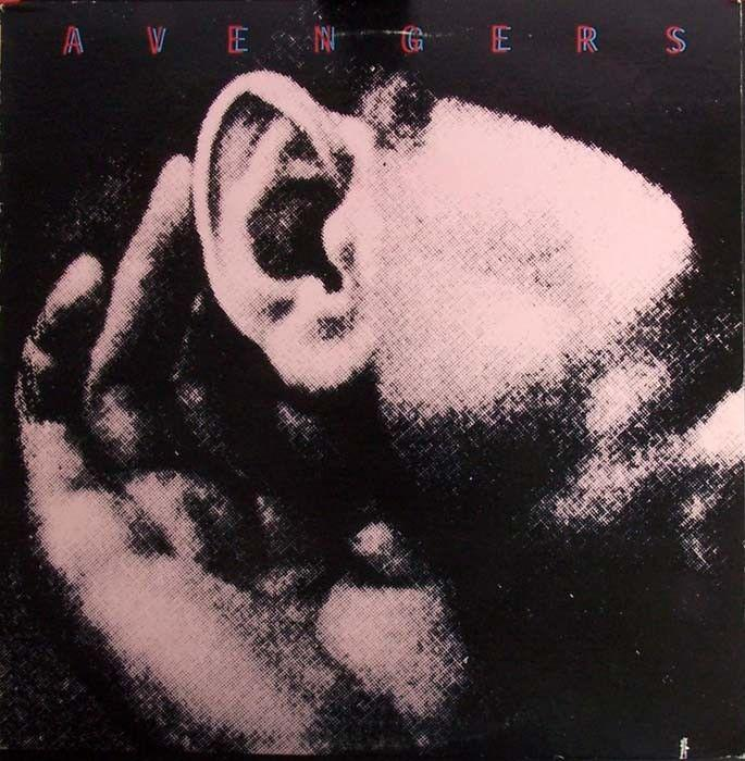 Unused AVENGERS 1979 Vinyl EP Original on White Noise Records