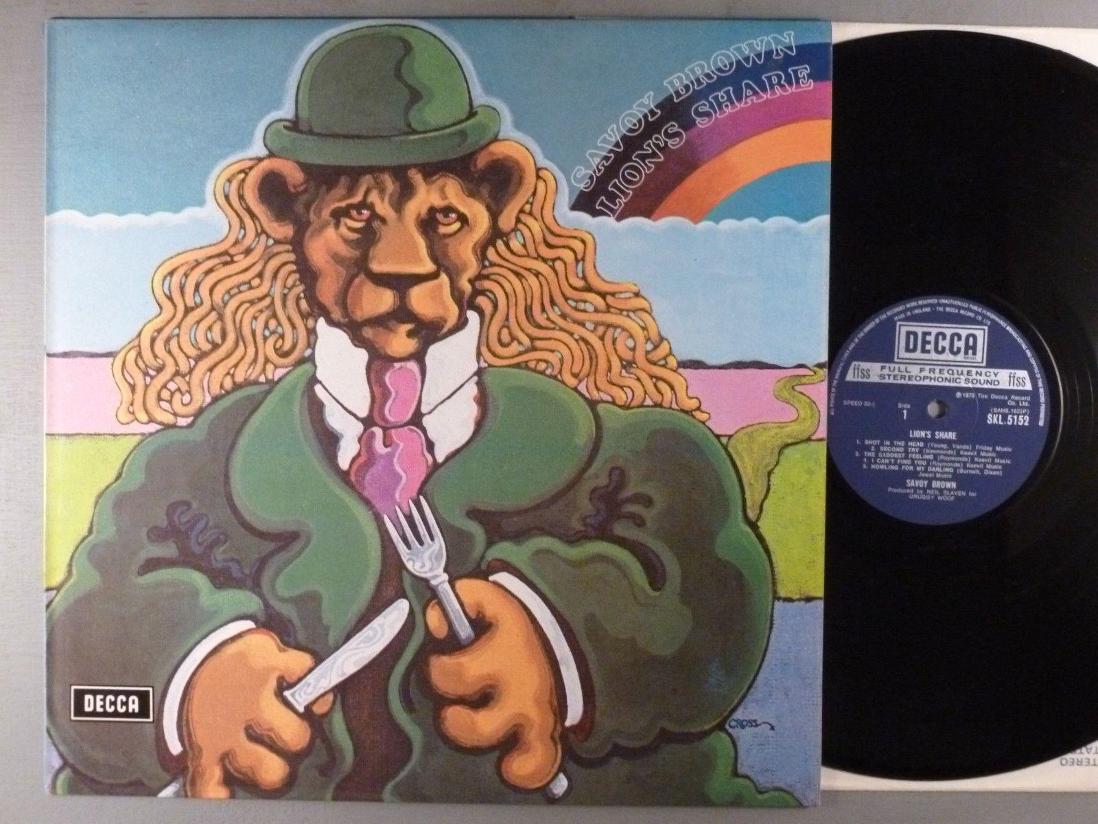 Savoy Brown  Lion's Share  Blues Rock  1973 UK Press