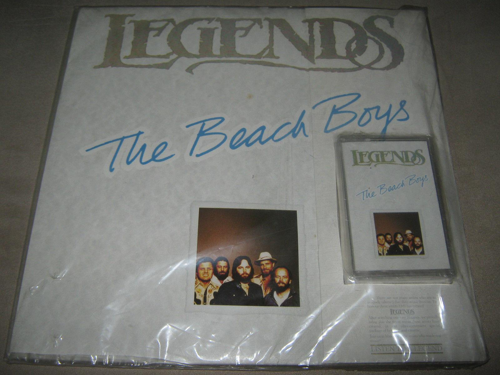 THE BEACH BOYS Legends SEALED NEW Vinyl LP & CASSETTE South Africa Greatest Hits