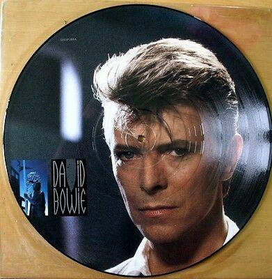 "EX/EX  DAVID BOWIE LOVING THE ALIEN 12""  PICTURE PIC DISC"