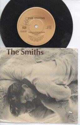 "THE SMITHS   Rare 1983 Australian Only 7"" OOP CBS P/C Single ""This Charming Man"""