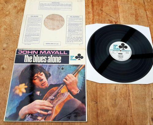 JOHN MAYALL The Blues Alone 1st pressing ACL 243 ORIGINAL MONO vinyl LP   EX/EX
