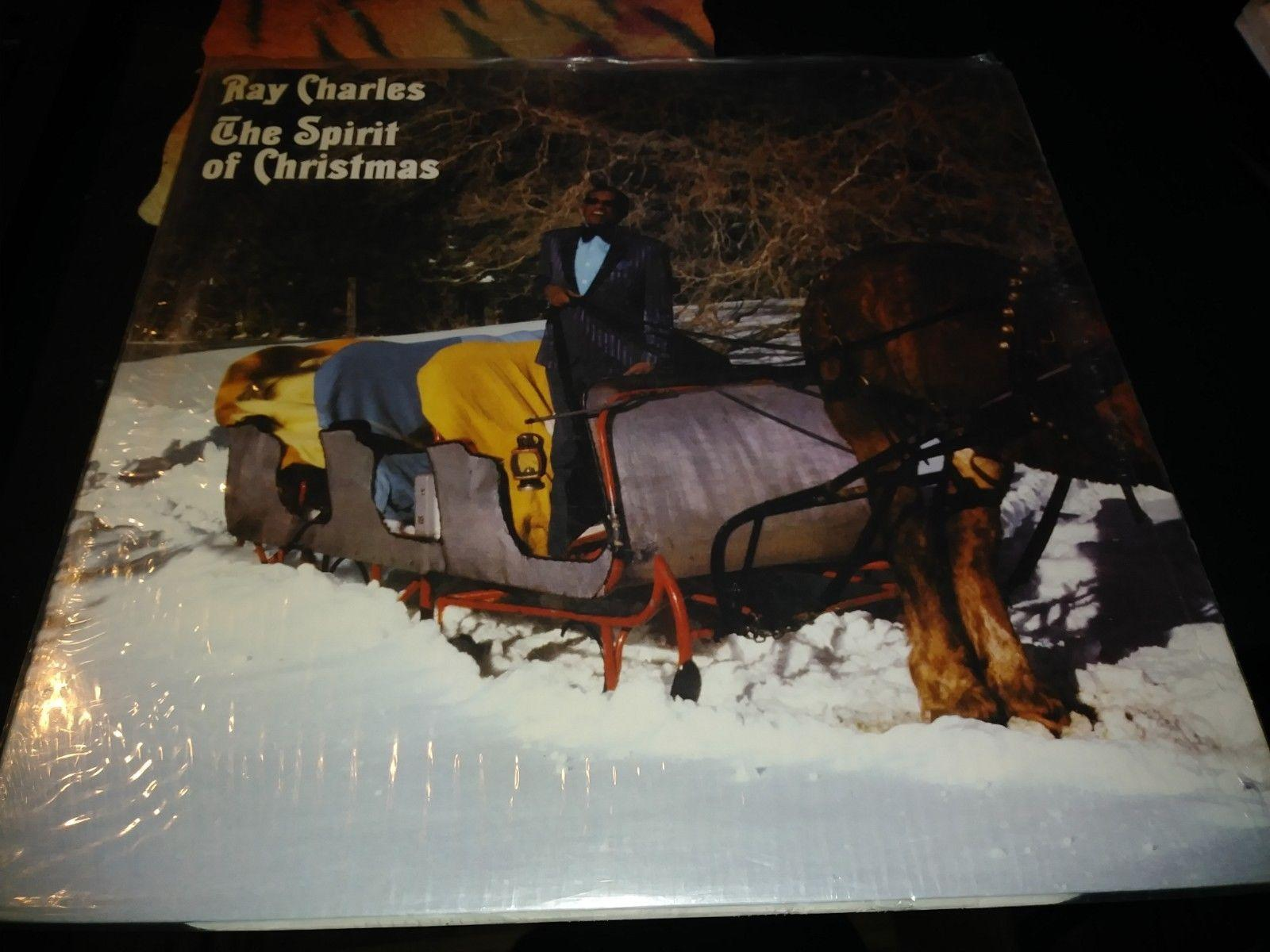 RAY CHARLES THE SPIRIT OF CHRISTMAS  FREE SHIPPING