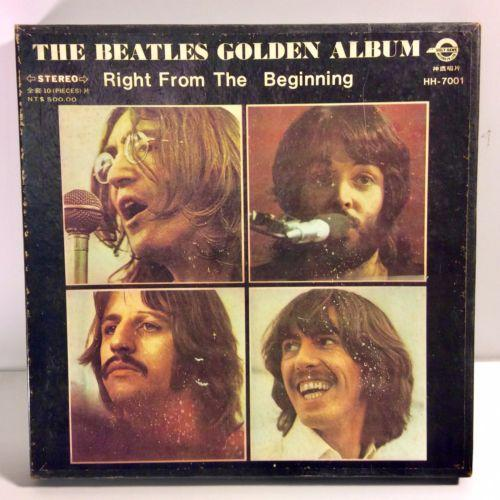 The Beatles Golden Album/ Right From The Beginning, Holy Hawk Taiwan 10 LP Box