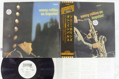 SONNY ROLLINS ON IMPULSE ABC/IMPULSE IMP-88061 Japan OBI PROMO VINYL LP