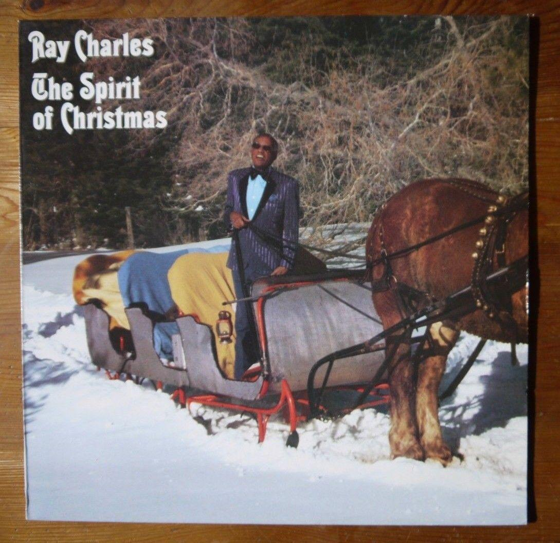 "PROMO  Ray Charles ""The Spirit Of Christmas"" NM 1985 26562"