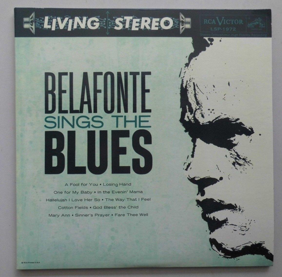 Harry Belafonte: Belafonte sings the Blues	(RCA/ Impex, IMP 6012-45)
