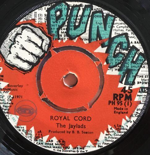 "THE JAYLADS Royal Cord Soul Beat LLOYD CHARMERS In The Spirit 1971 7"" EX-/VG+"