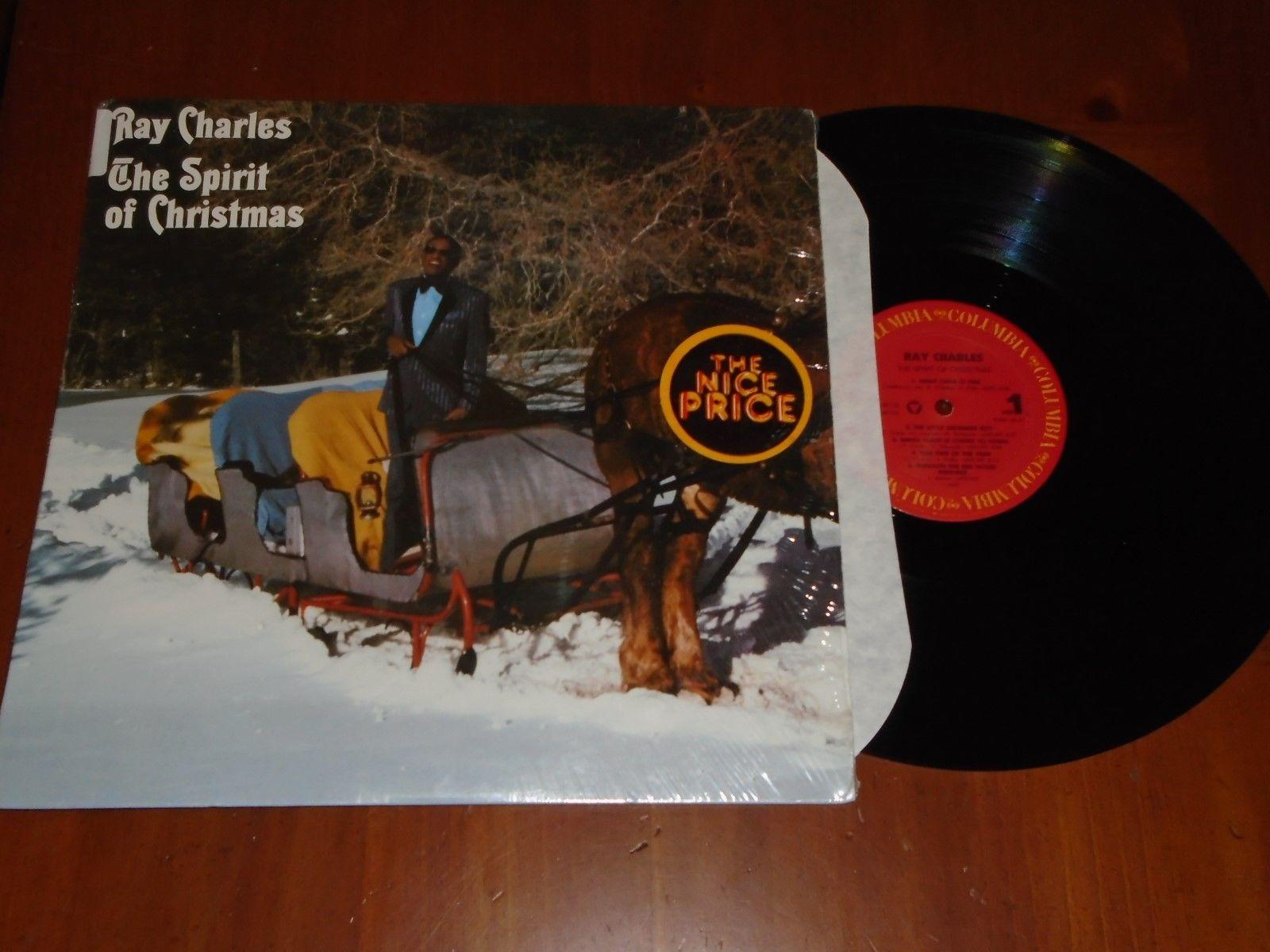 lp RAY CHARLES The Spirit of Christmas NM IN SHRINK