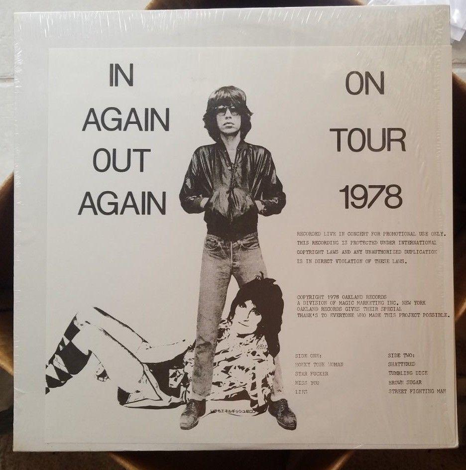 The Rolling Stones ?– Live: In Again — Out Again (On Tour 1978)