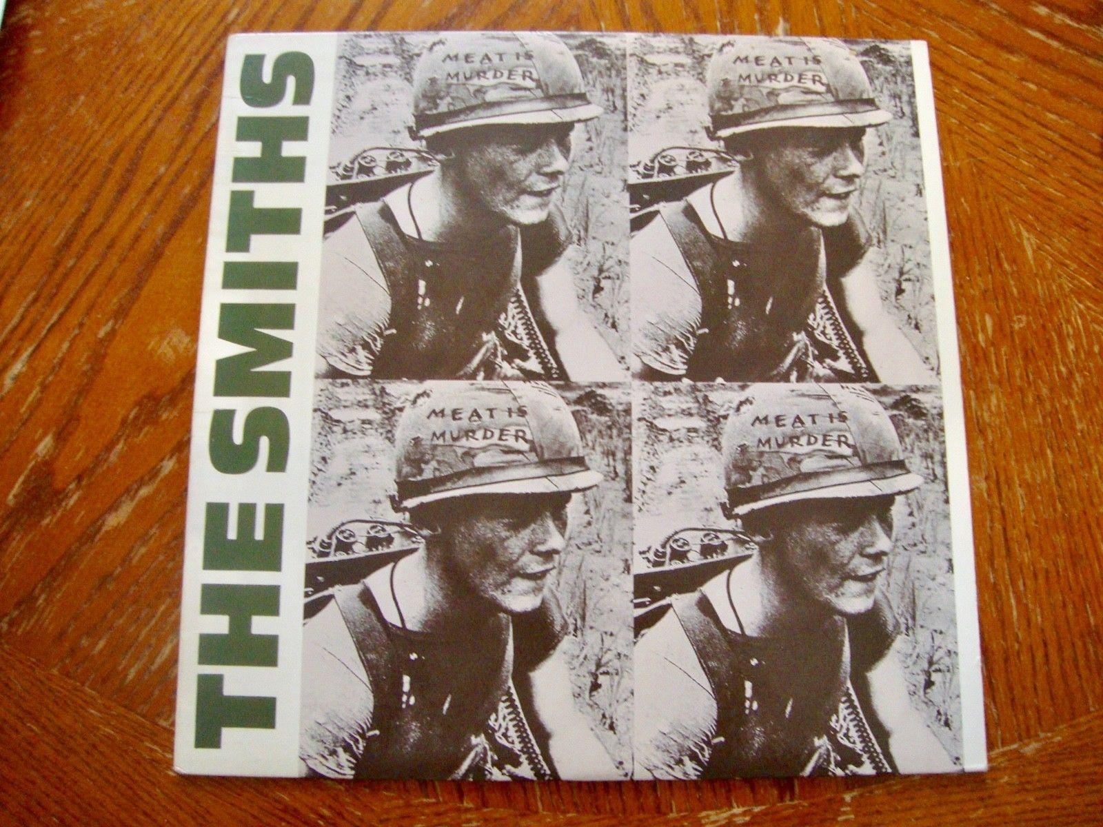 "The Smiths Meat Is Murder 1st US Press LP 12"" 1985 Sire Records 25269-1 SRC"