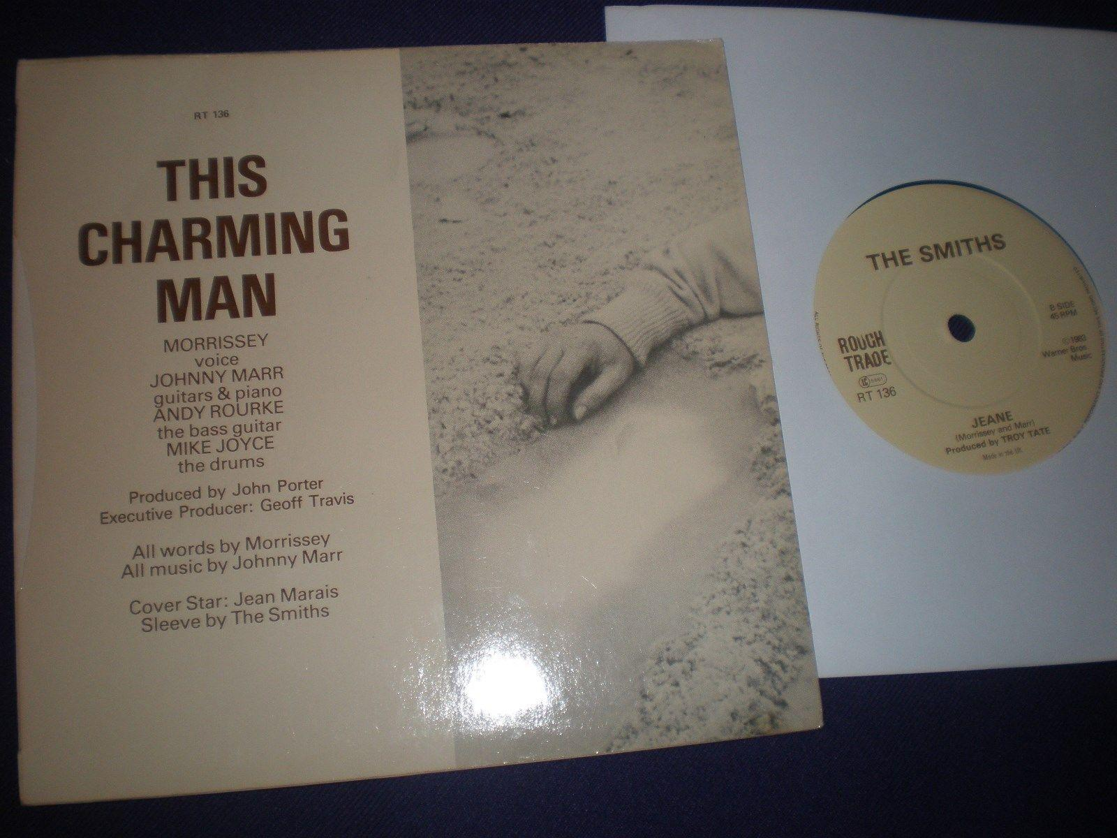 "The Smiths - This Charming Man...Rare Solid Centre 7"" inch single (Morrissey)."