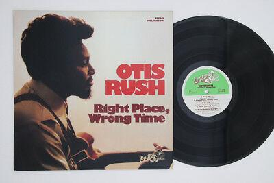 LP OTIS RUSH Right Place, Wrong Time bullfrog301 BULLFROG UNITED STATES Vinyl