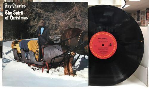 Ray Charles - The Spirit Of Christmas - Columbia FC 40125 VG++ Promo LP