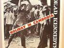 "DEAD KENNEDYS - Holiday In Cambodia - ORIGINAL '80 - 7"" Single, PS, Lyrics"