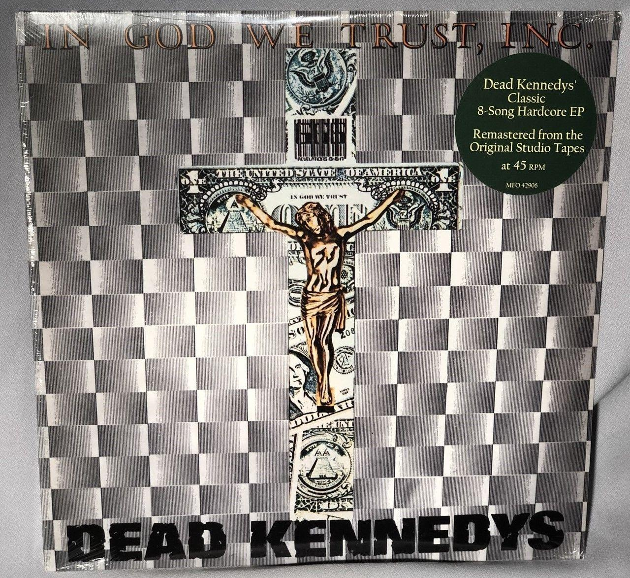 LP DEAD KENNEDYS In God We Trust Inc (Vinyl, 2003 REMASTERED PUNK) NEW MT SEALED