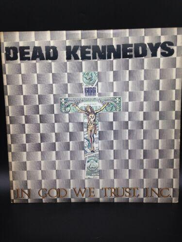 "DEAD KENNEDYS In God We Trust, Inc. ALTERNATIVE TENTACLES USA 12"" NM Record LP"