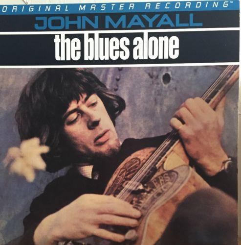 JOHN MAYALL - THE BLUES ALONE - Original Master Recording-MFSL #1926