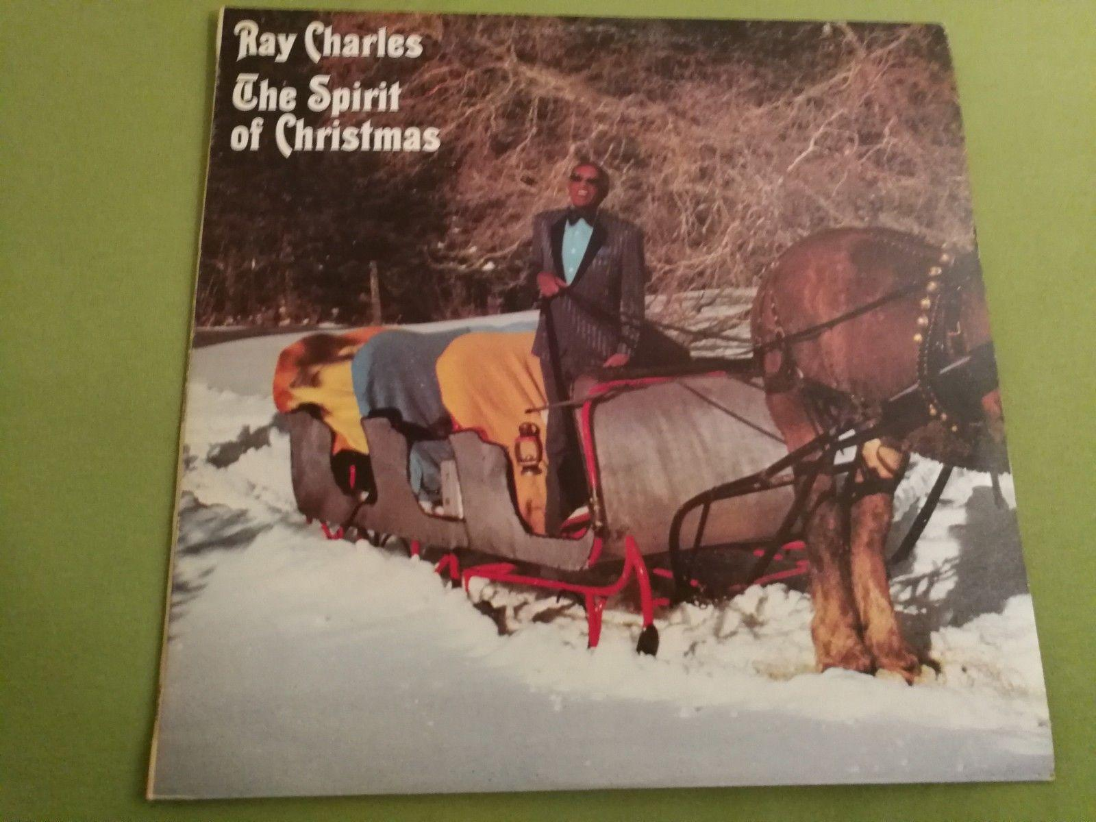 RAY CHARLES - The Spirit Of Christmas - MINT LP / COVER NM - RARE VINYL