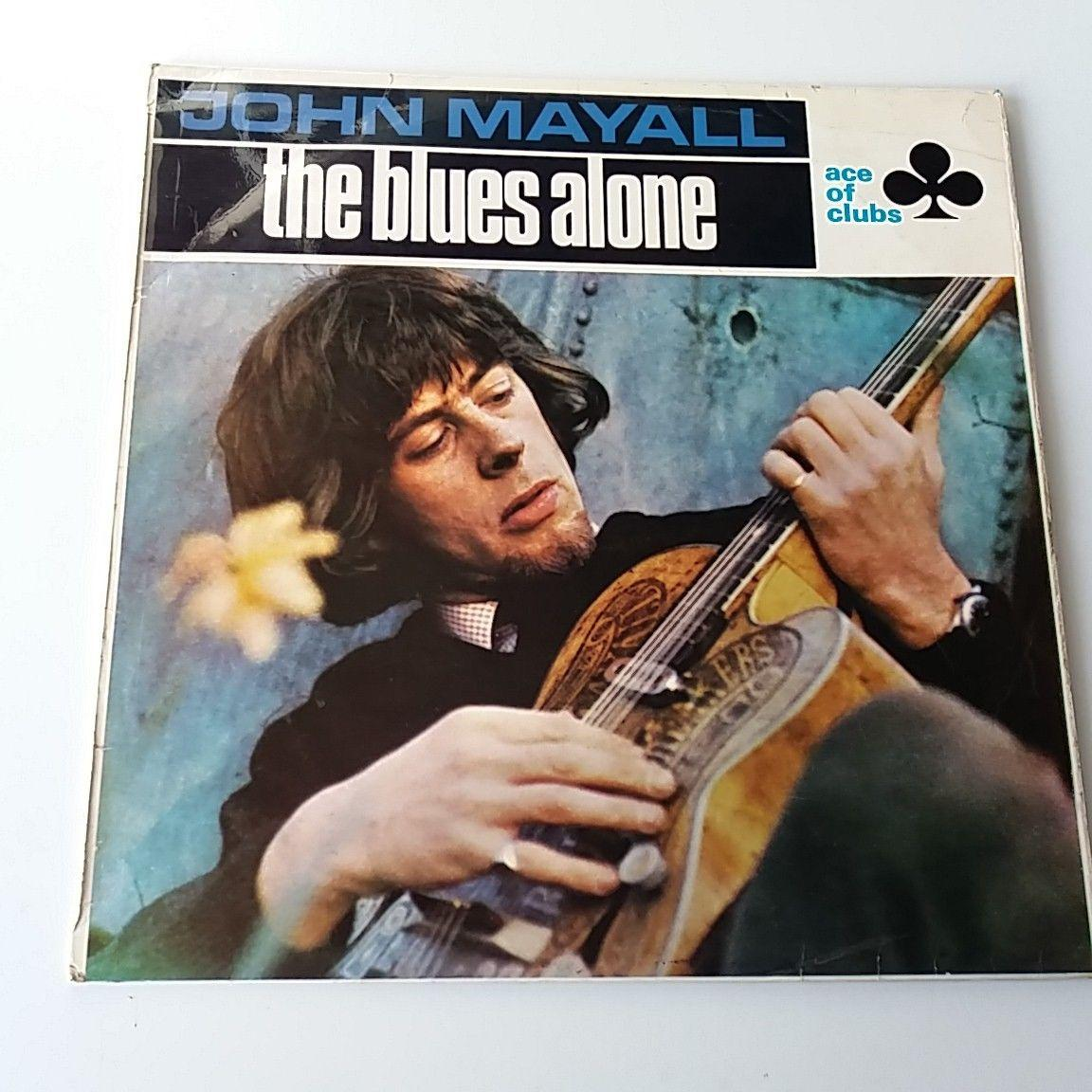 John Mayall - Blues Alone Vinyl Album LP Mono UK 1st Press 1967